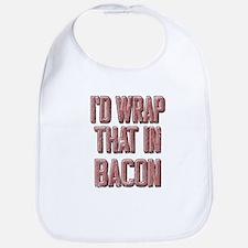 Vintage I'd wrap that in bacon Bib