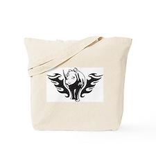Tribal Rhinoceros Tote Bag