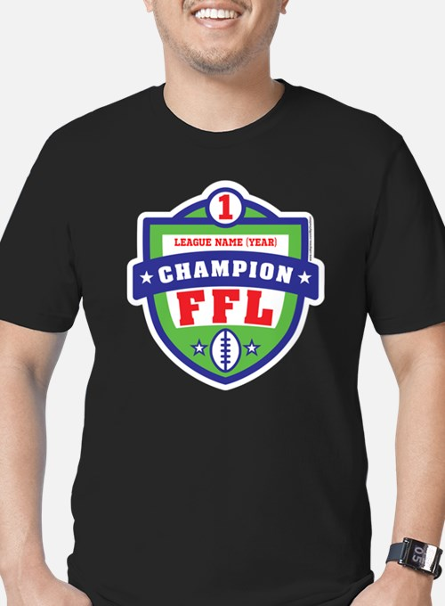 Men 39 S 2009 Fantasy Football Champ T Shirts 2009 Fantasy