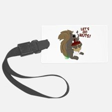 Lets Go Nuts! Luggage Tag