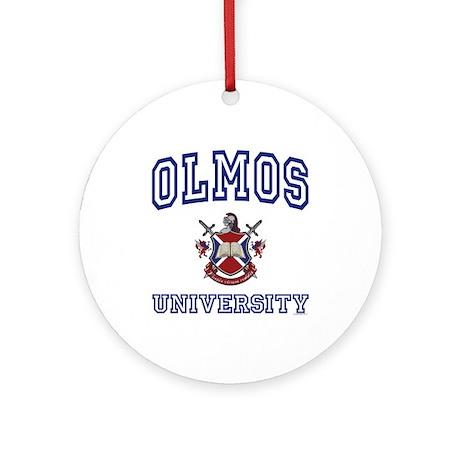 OLMOS University Ornament (Round)