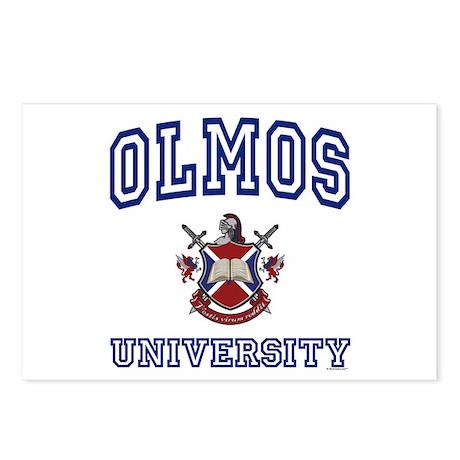 OLMOS University Postcards (Package of 8)