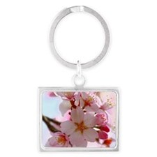 cherry blossoms Landscape Keychain