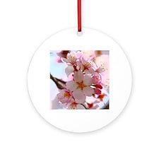 cherry blossoms Round Ornament