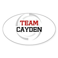 Cayden Oval Decal