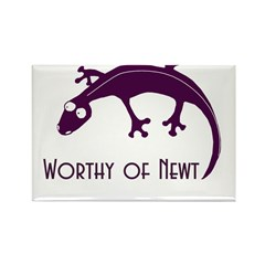 Worthy of Newt Rectangle Magnet (10 pack)