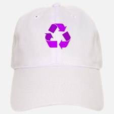 purple recycle symbol.png Baseball Baseball Baseball Cap