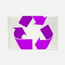 purple recycle symbol.png Magnets