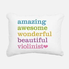 Funny Orchestra Rectangular Canvas Pillow