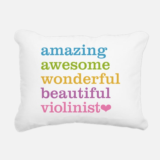 Cute Orchestra Rectangular Canvas Pillow