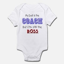 My Dad Is The COACH Infant Bodysuit