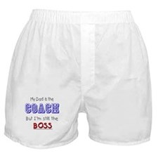 My Dad Is The COACH Boxer Shorts
