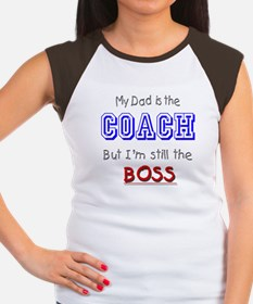 My Dad Is The COACH Women's Cap Sleeve T-Shirt