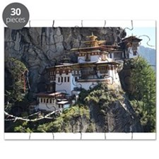 Jigsaw Puzzle Of The Tiger's Nest Monastery