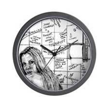 Ann Coulter Wall Clock