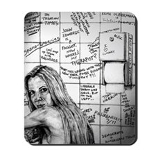 Ann Coulter Mousepad