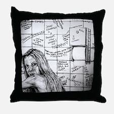Ann Coulter Throw Pillow