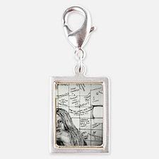 Ann Coulter Silver Portrait Charm