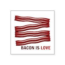 Bacon Is Love Sticker