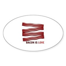 Bacon Is Love Decal