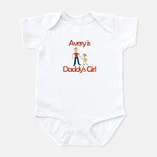Avery is Daddy's Girl Infant Bodysuit