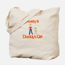 Avery is Daddy's Girl Tote Bag