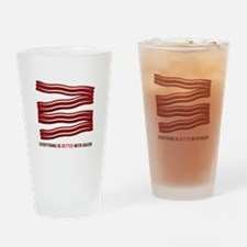 Better With Bacon Drinking Glass