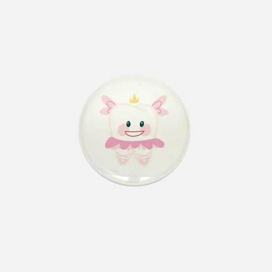 Toothy Fairy Mini Button