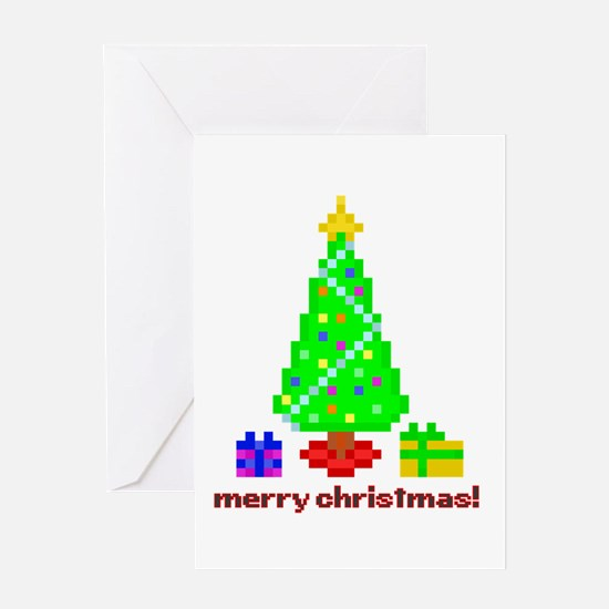 Bit Christmas Greeting Cards