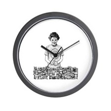Nancy Reagan Wall Clock