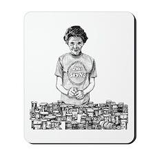 Nancy Reagan Mousepad