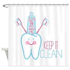 Keep it Clean Shower Curtain