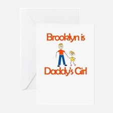 Brooklyn is Daddy's Girl Greeting Cards (Package o