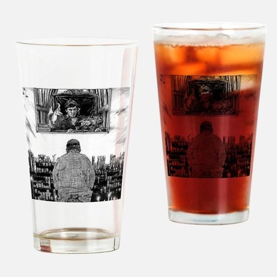 Saint Tony Drinking Glass