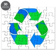recycle symbol made of the earth.png Puzzle