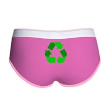 green recycle symbol.png Women's Boy Brief