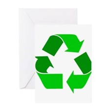 green recycle symbol.png Greeting Cards