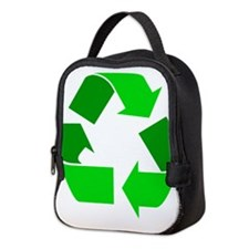 green recycle symbol.png Neoprene Lunch Bag