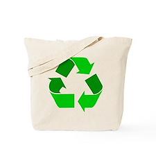 green recycle symbol.png Tote Bag
