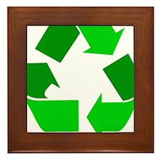 green recycle symbol.png Framed Tile