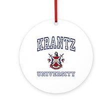 KRANTZ University Ornament (Round)