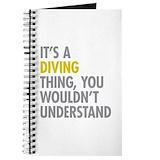 Springboard diving Journals & Spiral Notebooks