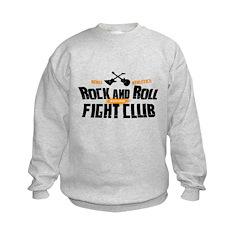 Rock and Roll Fight Club Sweatshirt