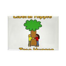 liberal hippie tree hugger Magnets