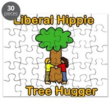 liberal hippie tree hugger Puzzle