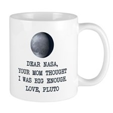 Dear Nasa Love Pluto Mugs