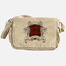 Skinner Tartan Shield Messenger Bag