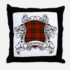 Skinner Tartan Shield Throw Pillow