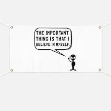 Alien Believe In Myself Banner