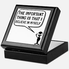 Alien Believe In Myself Keepsake Box